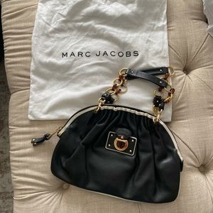 Black and gold Marc Jacobs purse